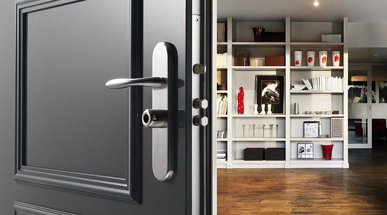 porte blind e de maison fichet certifi e a2p point fort fichet dans l 39 oise. Black Bedroom Furniture Sets. Home Design Ideas