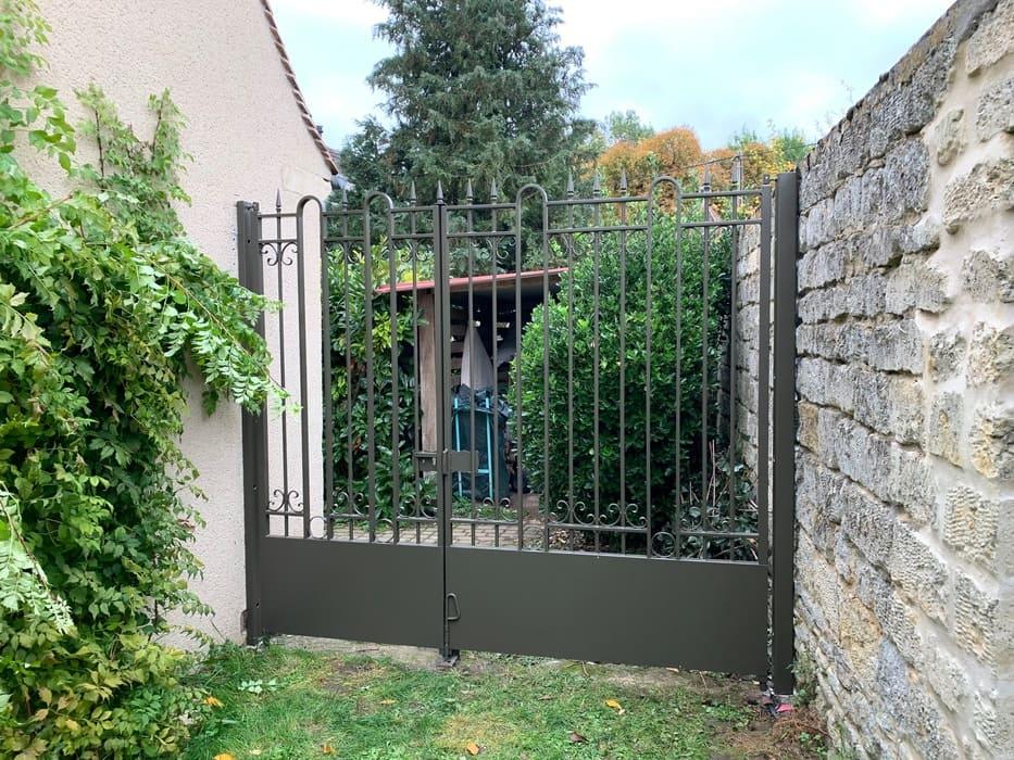 Portail Acier, Courteuil, Oise