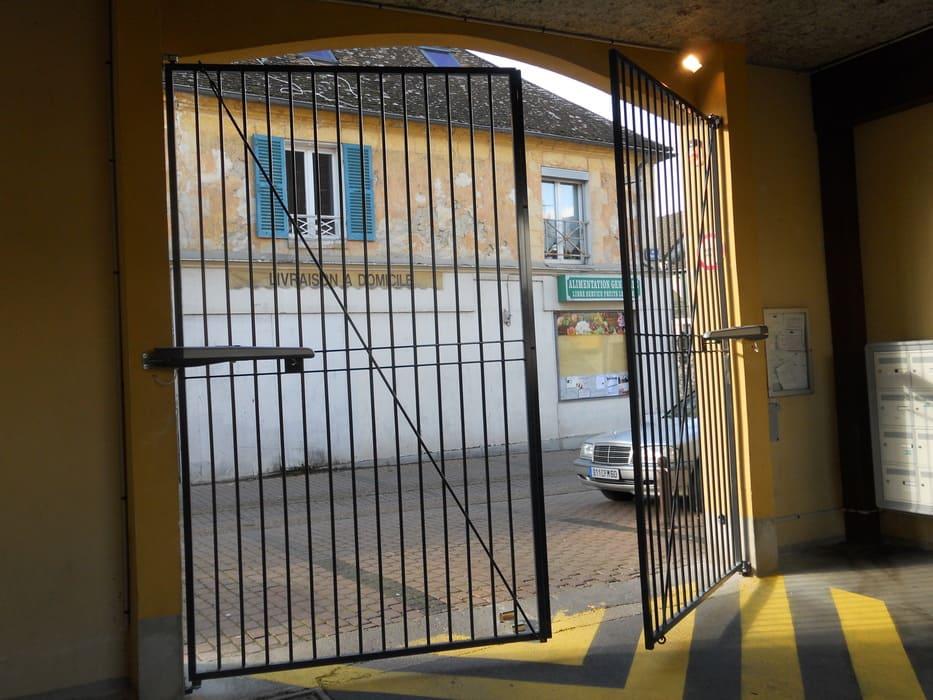 Portail Acier Motorisé, Coye Le Foret, Oise