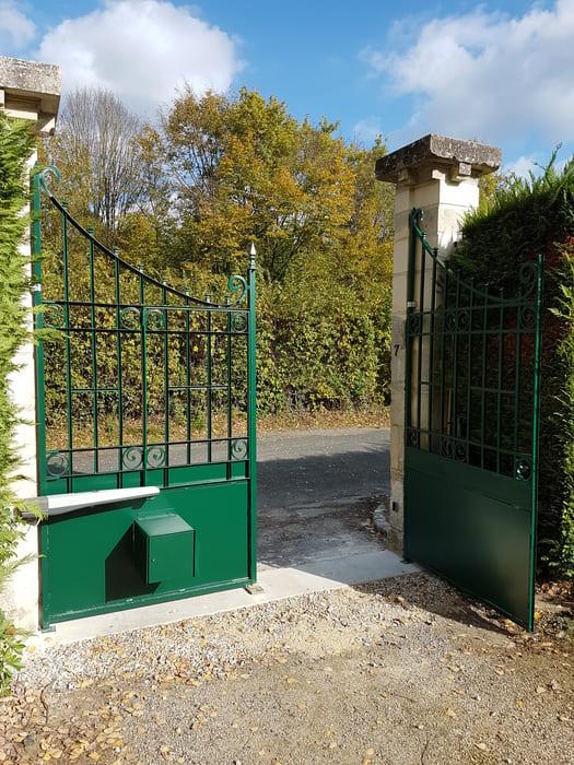 Portail Acier Vineuil Saint Firmin, Oise