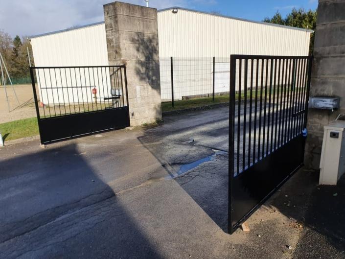 Portail Acier sur mesure, Gouvieux, Oise