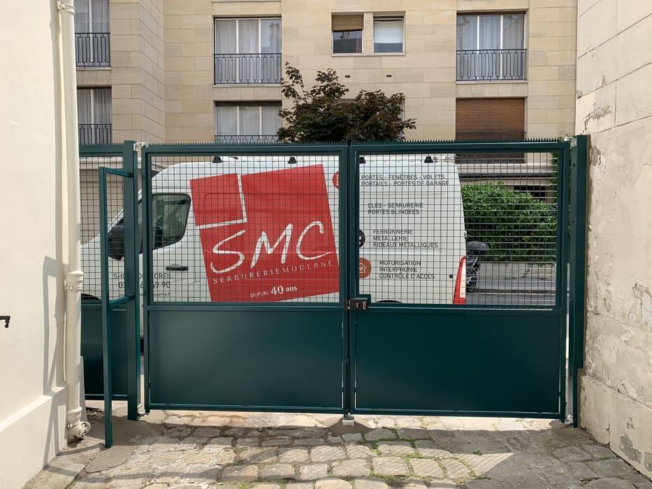 Portail Acier sur mesure, Paris