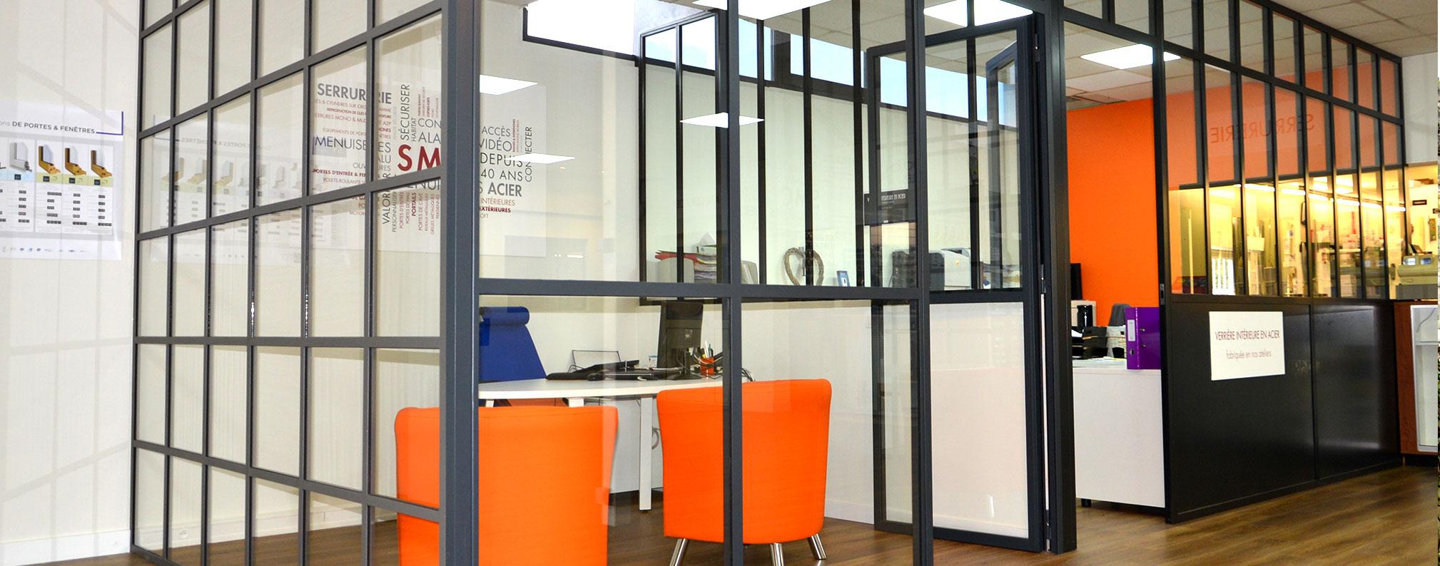 menuiserie acier et verri re style atelier d 39 artiste acier serrurerie moderne creilloise. Black Bedroom Furniture Sets. Home Design Ideas
