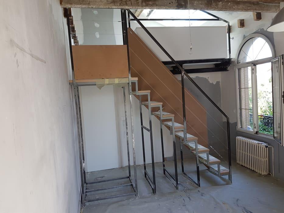 Escalier acier sur mesure, Paris