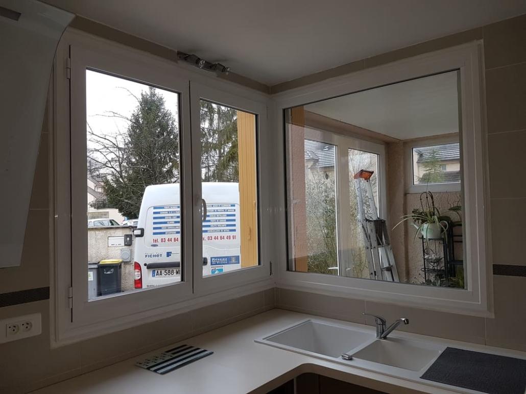 Fenêtre aluminium, Chantilly, Oise