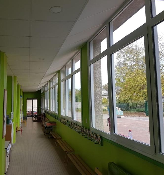 Menuiserie Aluminium Ecole Cires Les Mello Oise 0