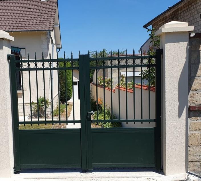 Portail Aluminium Compiegne, Oise