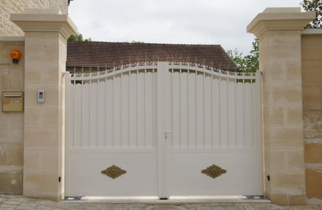 Portail Aluminium, Oise