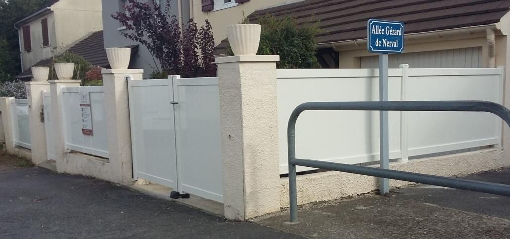 Portail Aluminium, Saint Leu, Oise
