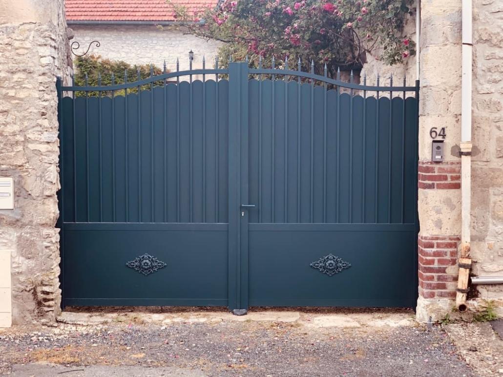 Portail Aluminium, Senlis, Oise