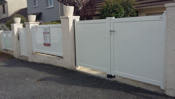 Portail Aluminium, Villers sous saint Leu, Oise