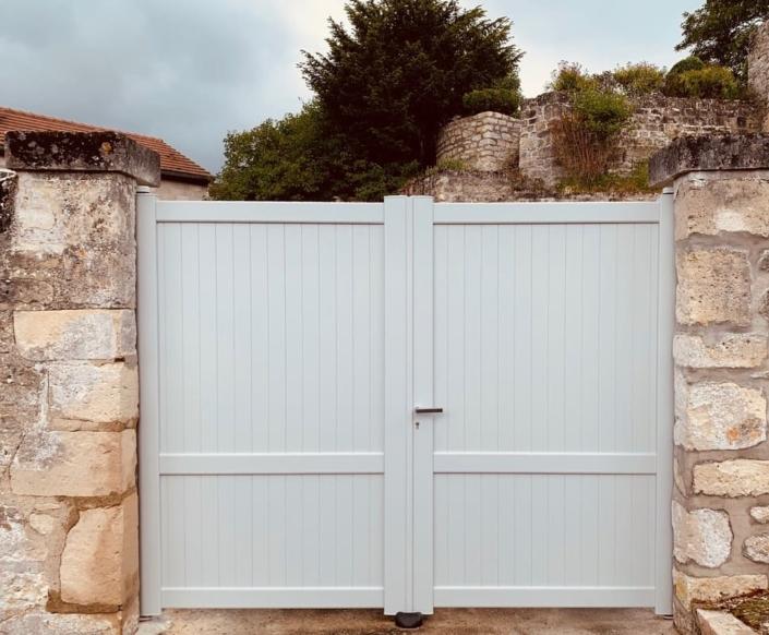 Portail Aluminium, Vineuil Saint Firmin, Oise