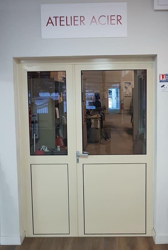 Porte Acier Atelier - Creil Oise
