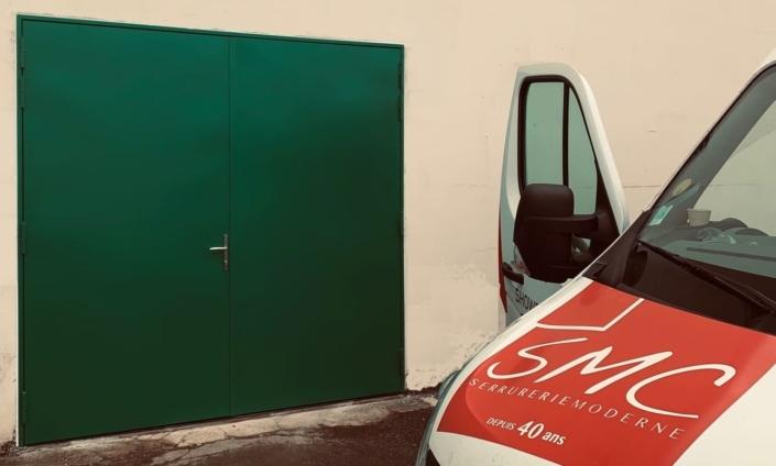 Porte Acier Atelier Soissons