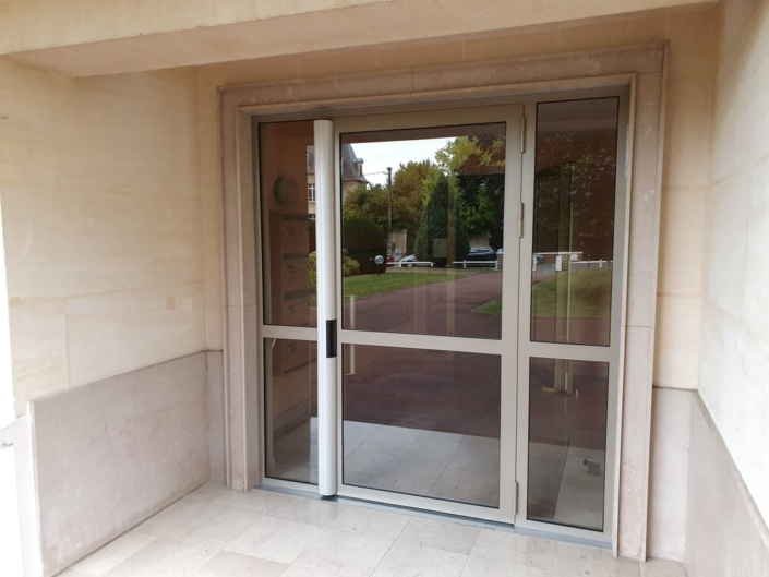 Porte Acier Entree Hall Compiegne Oise
