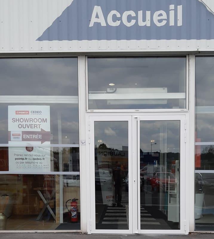 Porte Acier - Entrée Magasin - Nogent sur Oise
