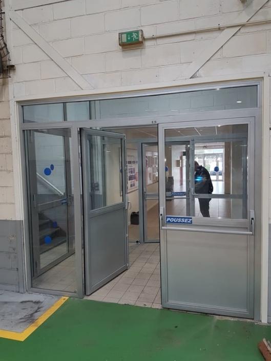 Porte Acier Industrie Oise