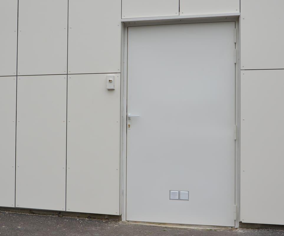 Porte Acier Local EDF Oise