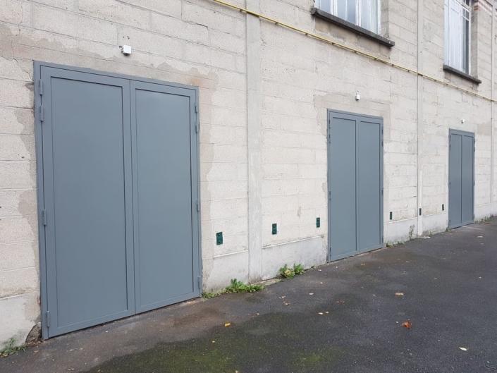 Porte acier isolée, Cires Les Mello, Oise