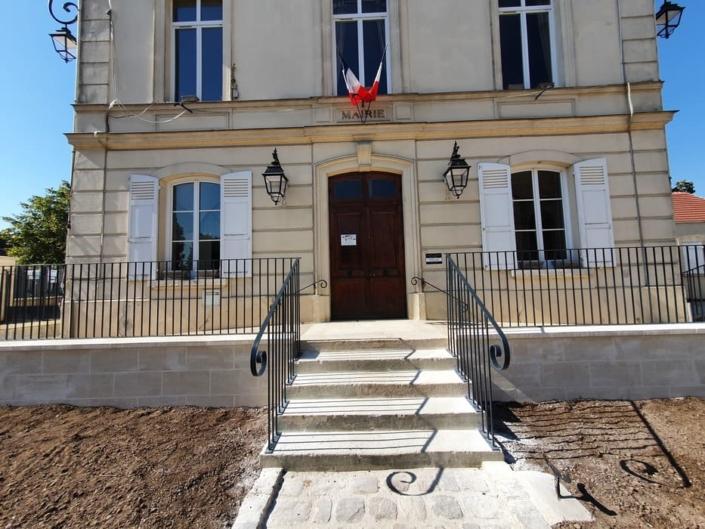 Garde corps Mairie Chennevières-lès-Louvres, Val d'Oise