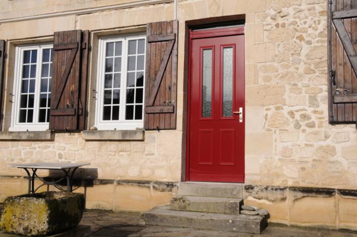 Porte blindée Fichet, Oise