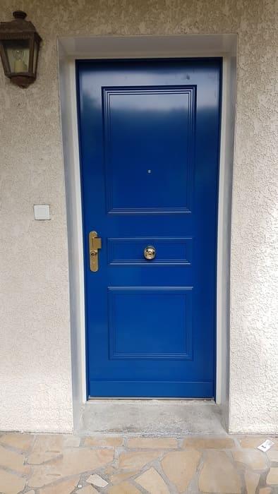 Porte entrée Fichet Ecouen
