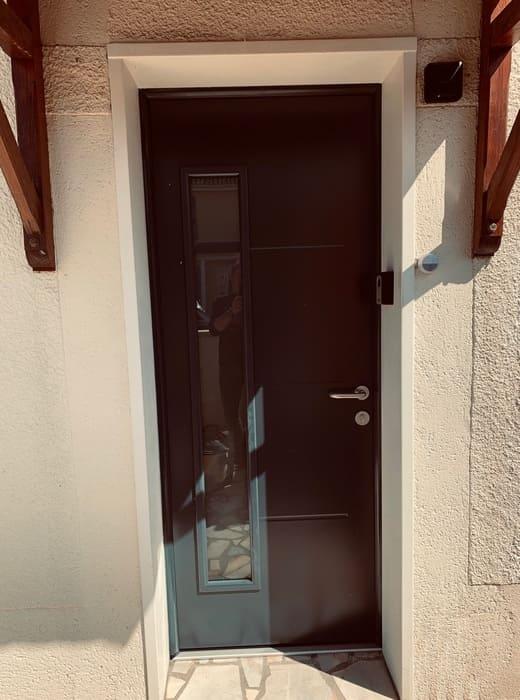 Porte entrée Hormann, Compiègne, Oise
