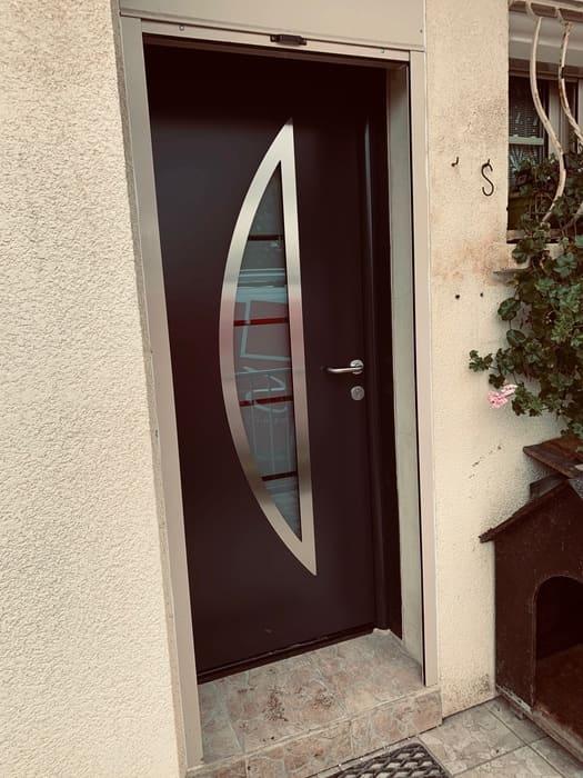 Porte entrée Hormann Senlis, Oise