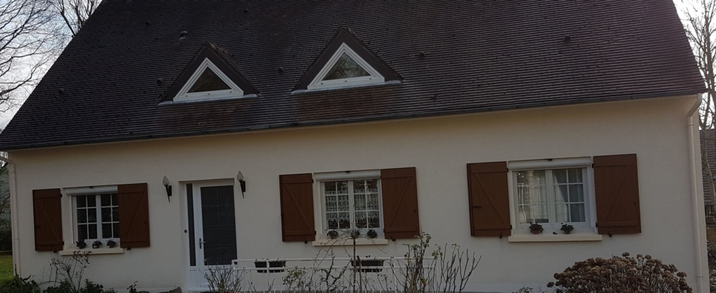 volets battants ton bois, Oise, Chantilly